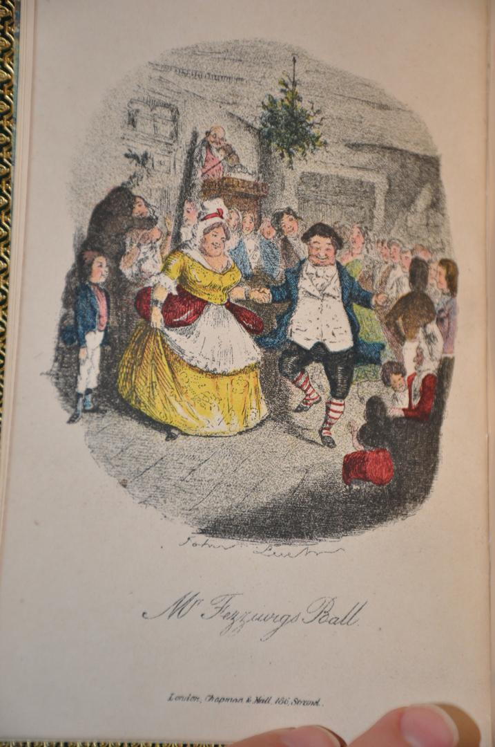 DICKENS A CHRISTMAS CAROL 1st Edition by Charles Dickens: Chapman & Hall Hardcover, 1st Edition ...