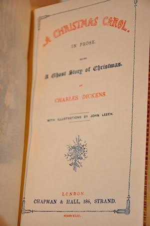 dickens a christmas carol 1st edition charles dickens - A Christmas Carol First Edition