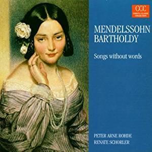 21) Lieder ohne Worte. Peter Arne Rohde,: Mendelssohn-Bartholdy, Felix: