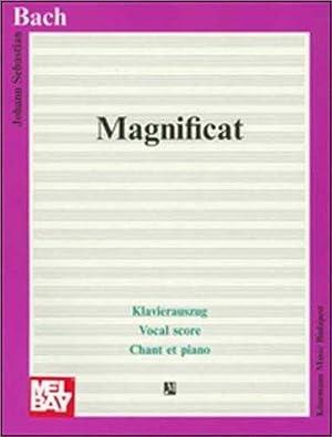 Magnificat in D. BWV 243. Klavierauszug. Herausgegeben: Bach, Johann Sebastian