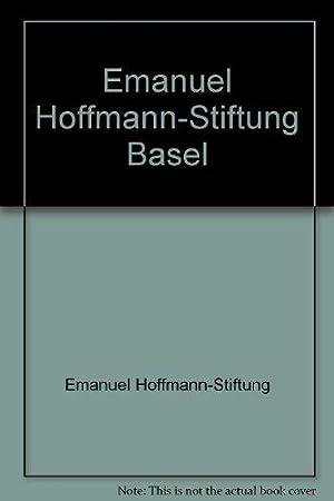 Emanuel Hoffmann-Stiftung Basel: Emanuel Hoffmann-Stiftung, Basel