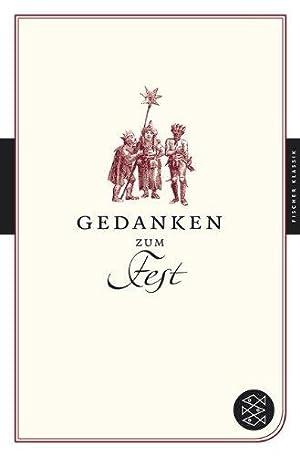 Gedanken zum Fest. Fischer Klassik.: Sander, Ulrike-Christine (Hrsg.):