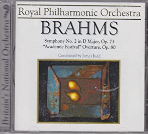 Symphony No. 2 In D Major, Opus: Johannes Brahms: