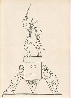 I. Kneip-Zeitung. 1813 - 1913. Studentische Commerszeitung