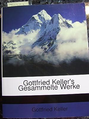 Gottfried Keller's Gesammelte Werke. Der grüne Heinrich,: Keller, Gottfried,