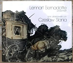 Lennart Bernadotte präsentiert das Lebenswek von Czeslaw Slania. Lennart Bernadotte presenterar ...
