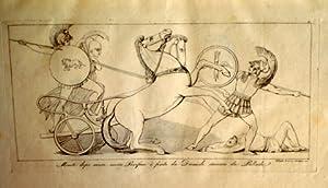 Iliade d`Omero rappresentata in figure da Giovanni: Flaxman, (John) Giovanni.