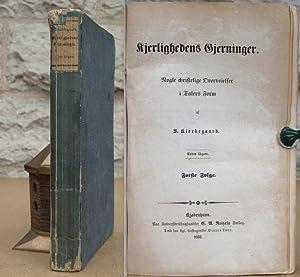 Kjerlighedens Gjerninger. Nogle christelige Overveielser i Talers: Kierkegaard, Sören.
