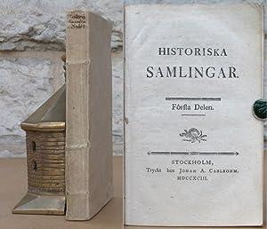 Historiska samlingar.: Adlersparre, C.