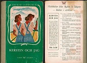 Kerstin och jag.: Lindgren, Astrid.