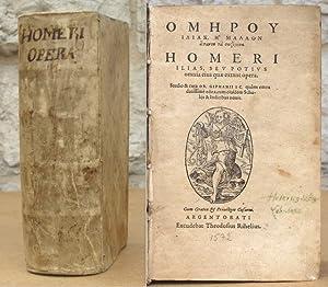 Homerou Ilias, e mallon hapanta ta sozomena.: Homer.