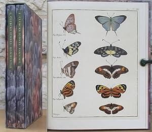 Carl Clercks Fjärilsbok; Icones Insectorum Rariorum 1759-1764.: Clerck, Carl.