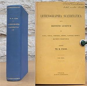 Lichenographia scandinavica I-II.: Fries, Th. M.
