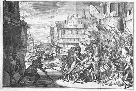 Graaf Dirk IV te Dordrecht door een: Hooghe, Romeyn de