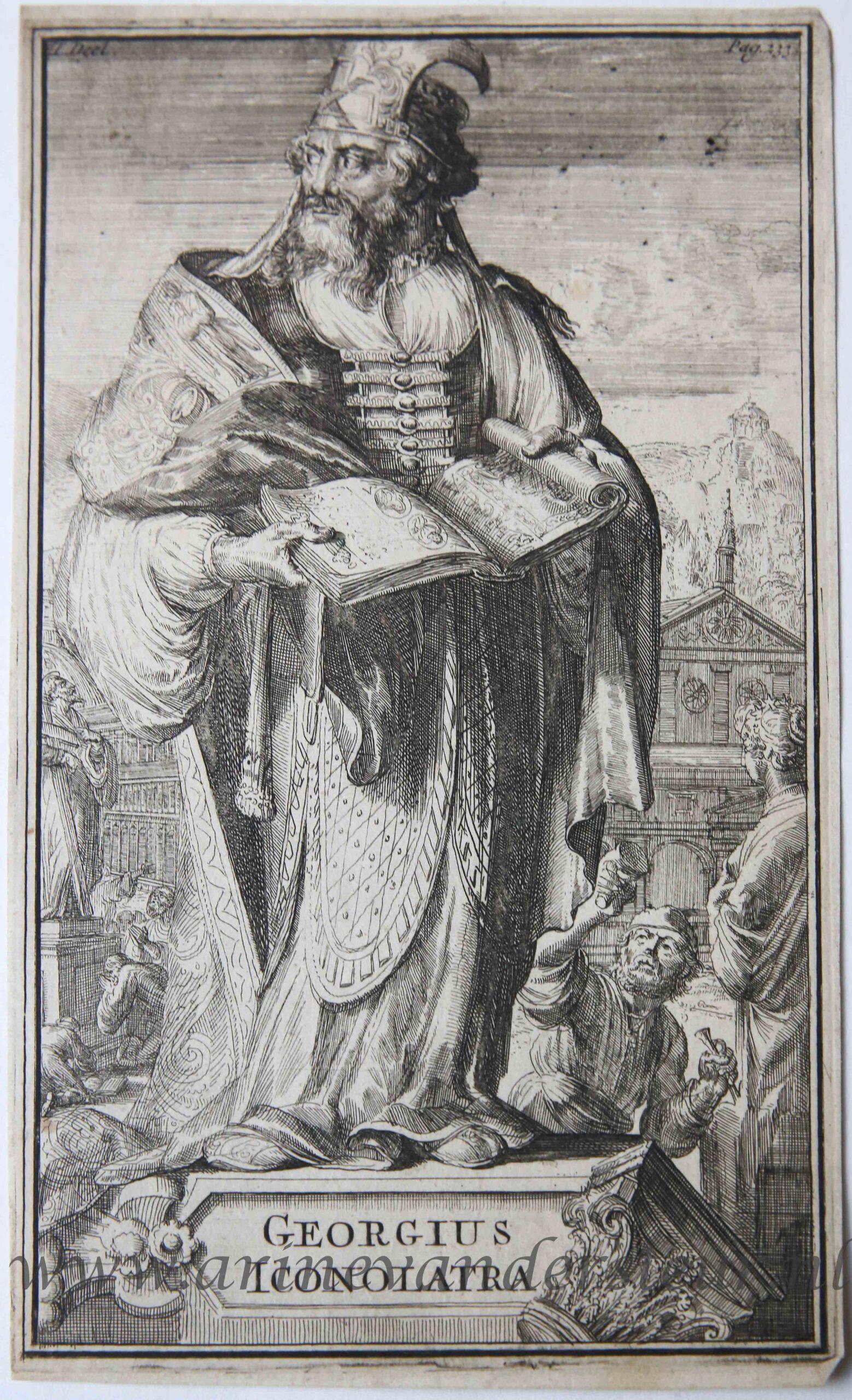 GREGORIUS ICONOLATRA: Hooghe, Romeyn de