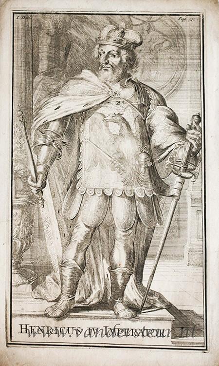 HENRICUS IV IMPERATOR.: Hooghe, Romeyn de