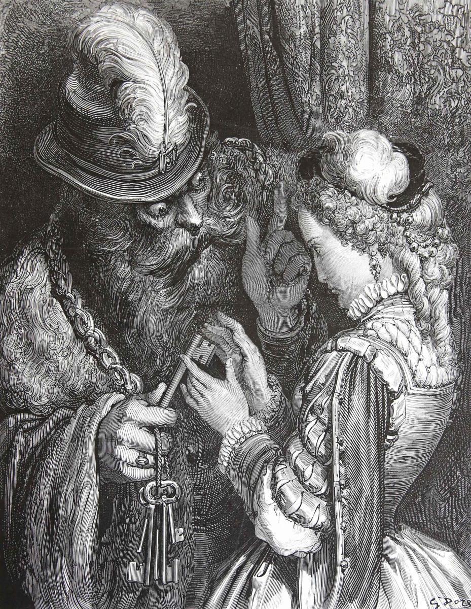 Les Contes de Perrault. Dessins par Gustave: Perrault, Charles [illustrator: