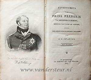 Levensschets van prins Frederik van Brunswijk Lunenburg,: Swaving, Justus Gerardus