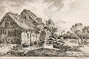 Landscape with old house