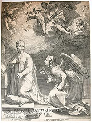 The Annunciation (The birth and Early Life of Christ; set title)