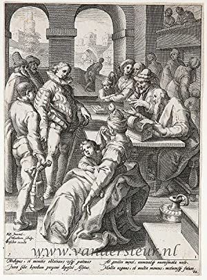 The Parable of the Prodigal Son: Matham, Jacob (1571-1631)