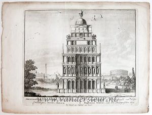 SEPTIZONIUM imp. SEVERI. Views of Rome [Set title]