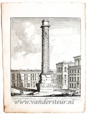 COLUMNA imp. ANTONINI PII. Views of Rome [Set title]