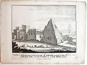 PYRAMIS C. CESTII. Views of Rome [Set title]
