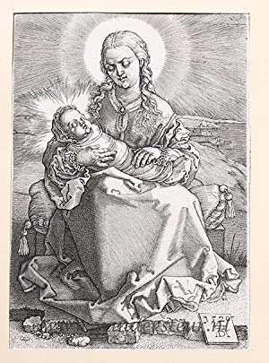 The Virgin and Child: Wierix, Johannes (1549-c.