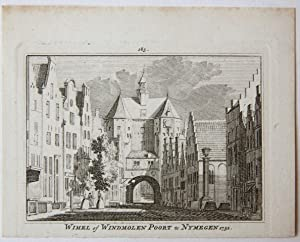 Wimel of Windmolen Poort te Nymegen 1732.