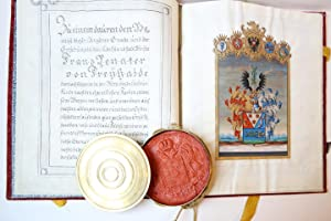 Patent of nobility donated by former elected Roman Emperor Franz II (1768-1835) in his role as th...