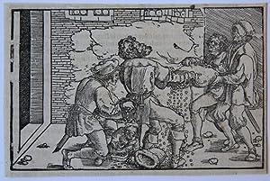 Losing money ['De remediis utriusque fortunae'].: Weidtz, Hans the