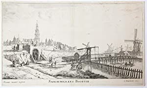 SAAGHMEULENS POORTIE [set title: Town Gates of Amsterdam].