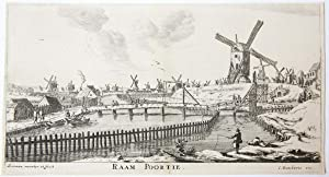 RAAM POORTIE [set title: Town Gates of Amsterdam].
