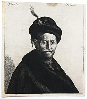 Bust of a man with turban (tulband).