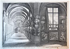 Porticuum prospectus (Part of the picture gallery of the Duke Leopold Willem of Austria in Brussel).