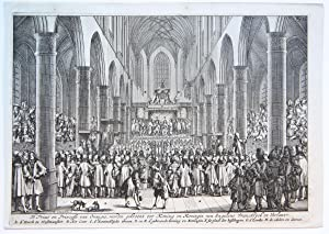 Crowning of William III and Mary [D'Prins en Princesse van Orangie, worden gekroont] (Kroning van...