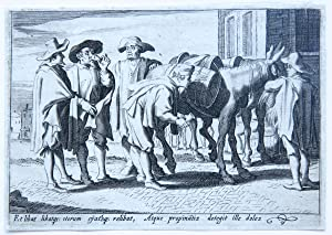 The seller of beverages [set of the trades] (verkoper van drankjes).