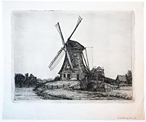 Wind mill (windmolen).