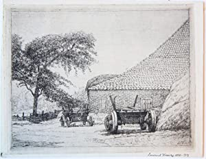 View on a farm house (boerderij).