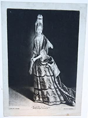 Lady in chamber dress (dame in (kamer)jurk).