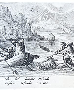 The turtle hunt [set: 'VENATIONIS, PISCATIO.'] (schildpadden jacht).