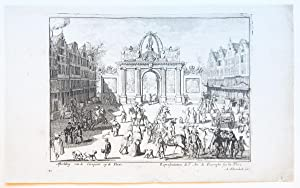 The entrance of king William III's in The Hague in 1691.