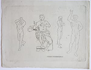 Study of a male figure (Tekening van man).
