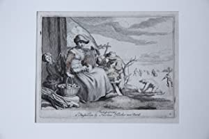 Etching and Engraving/Ets en Gravure: Januarius / January [The months. Landscape with figures].
