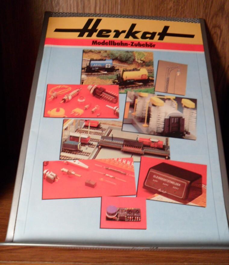 Locomotive Parts Catalog : Herkat modellbahn zubehor german model train parts