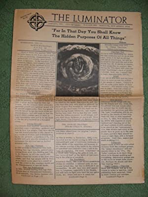 "THE LUMINATOR, JANUARY, 1970 (""For In That: THE LUMINATOR"
