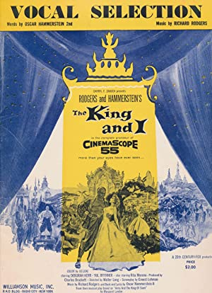 Vocal Selection Rodgers and Hammerstein's the King: Oscar Hammerstein 2nd