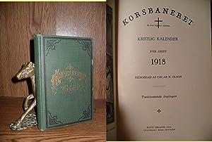 Korsbaneret (1918): Kristlig Kalender