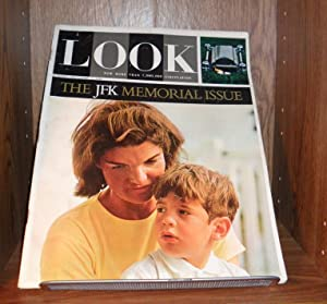 LOOK MAGAZINE NOVEMBER 17 1964, THE JFK: LOOK MAGAZINE